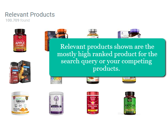 relevant-products-shown-amazon